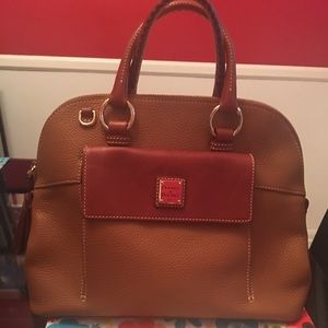 Dooney & Bourke Zip Dome Satchel & Makeup Bag